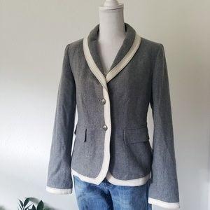 Chelsea & Theodore Schoolboy Style Gray Blazer 2